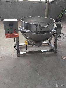 烧鸡蒸煮锅,电加热卤煮夹层锅