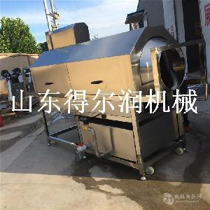 滚筒小包装袋清洗机 食品铝箔袋外表洗油设备 毛刷冲洗机器