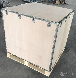 插片 可折叠 可拆 无钉 出口 免熏蒸 钢带箱