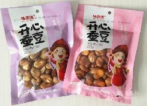休闲零食麻辣味五香味蚕豆兰花豆