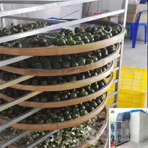 小青柑干燥用什么设备好空气能热泵机厂家