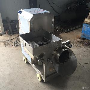中小型鱼肉采肉设备鱼肉鱼刺分离机
