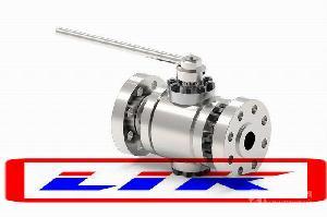 进口高压锻钢球阀 ,世界500强企业认可品牌(莱克LIK)