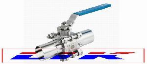 进口三片式焊接球阀|德国LIK莱克品牌