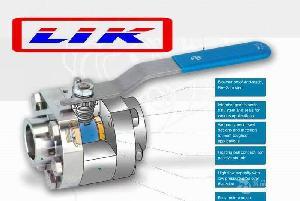 进口三片式承插焊球阀,世界500强企业认可品牌(莱克LIK)