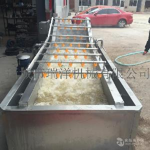 全自动蔬菜清洗机脱水蔬菜生产线