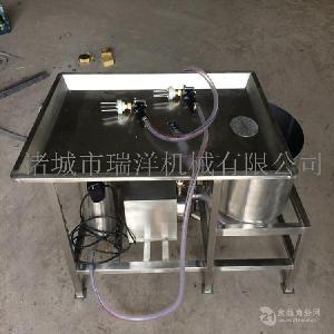 手动盐水注射平台肥羊肉手动盐水注射机
