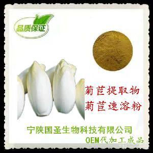 菊苣浸膏粉 菊苣提取物粉  水溶 可OEM代工成品 宁陕国圣