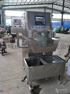 全自动盐水注射平台鸡柳自动盐水注射机