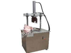 优质便捷式安全高效型猪头劈半机