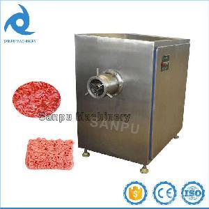 商用大型绞肉机,冻盘猪肉绞肉机