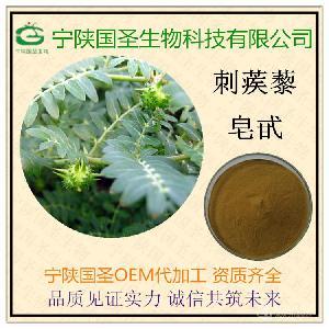 刺蒺藜皂甙 刺蒺藜提取物 宁陕国圣 代加工 专业植提 优质原料