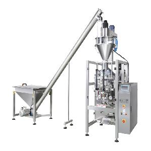 蔬菜粉末包裝機 全自動送料螺桿計量包裝機械廠家 粉劑自動包裝機