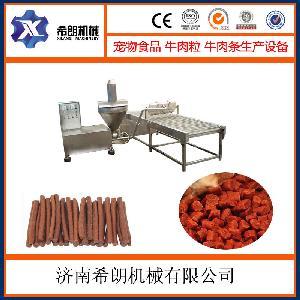 宠物零食肉肠生产线
