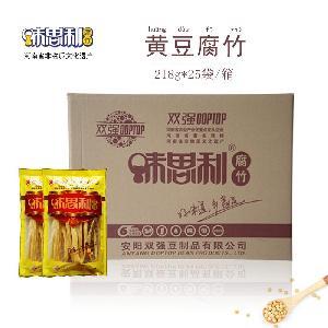 河南特产 味思利黄豆腐竹218克 原汁原味
