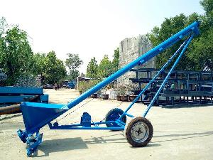 车载小麦玉米管式螺旋提升机 型号齐全