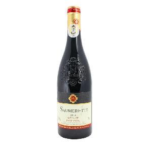 法国原瓶原装进口红酒黄金产区索美特红葡萄酒*单一美乐