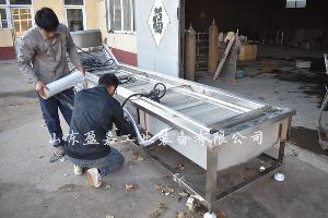 连续式冬瓜漂烫机 大型全自动预煮漂烫生产线