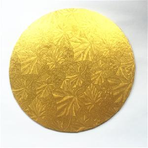 蛋糕垫圆形色8寸加厚铝箔纸中间瓦楞纸