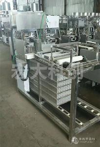 代替手工生产的仿手工豆腐皮机|一机多用|宏大仿手工豆腐皮机厂