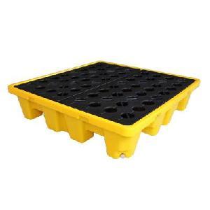 防渗漏塑料托盘,油桶塑料托盘厂家直销