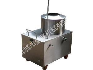 优质全自动不锈钢式马铃薯脱皮机
