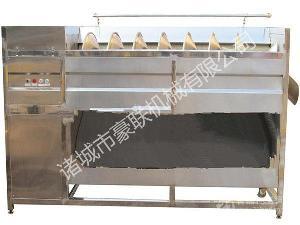 优质土豆马铃薯全自动不锈钢式去皮生产线