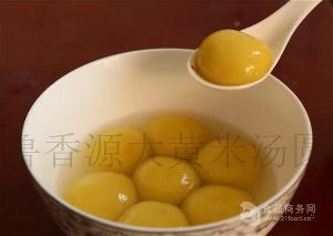 采购网红大黄米汤圆 选择山东鲁香源食品公司