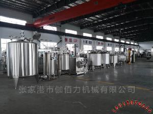 果汁饮料自动化生产线