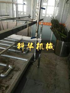 广东手工半自动腐竹生产线,手工腐竹机多少钱一台