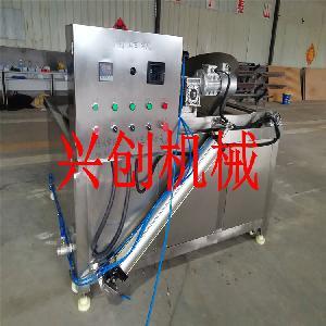 厂家-蚕豆油炸机-油炸设备厂家-电加热油炸机