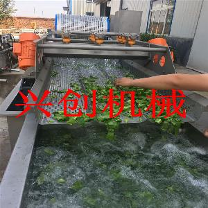 興創牌-蔬菜清洗機-黃花菜清洗機-SUS304