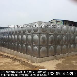 阜阳不锈钢保温水箱 消防水箱配置 不锈钢保温水塔