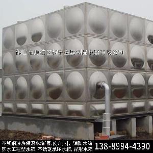 江西省不锈钢圆形水箱 304不锈钢生活水箱 消防水箱