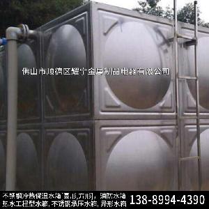 河源太阳能配套水箱 天台消防水箱 楼顶不锈钢水箱