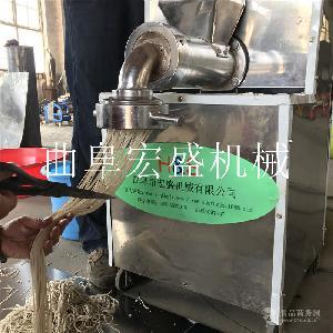 玉米面條機價格低十年品質牛筋面機