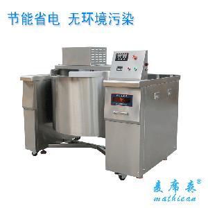 方宁商用可倾式夹层锅 自动搅拌夹层锅 自动煮馅锅食品机械