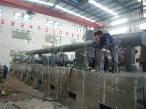 煤制顆粒形活性炭專用網帶式烘干機