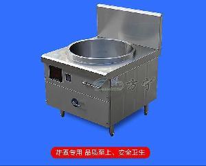 方宁商用电磁炉 厂家定制油炸设备 商用电炸炉圆形电炸锅