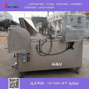 PTD-1500全自动坚果电加热油炸机 油炸设备 鹏福特