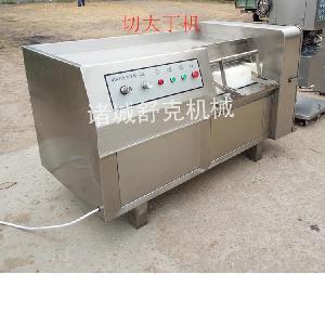 廣東雞肉切丁機凍肉切丁機快速連續切肉丁機器