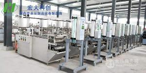 自动化程度高的豆腐皮机|商丘全自动豆腐皮机设备|仿手工生产宏大