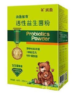 潤盈敏康活性益生菌粉固體飲料修改