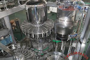 瓶装果汁饮料生产设备 三合一果汁饮料热灌装机
