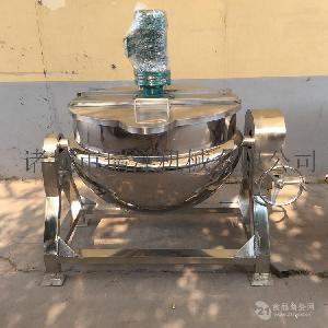 搅拌夹层锅电热夹层锅小型夹层锅