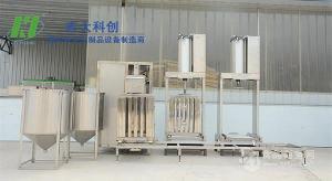 手拉式豆干机南阳|全自动豆腐干机设备|宏大科创 厂家直销