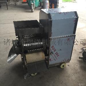 小型鱼肉采肉机机器 鱼肉采肉机去刺机