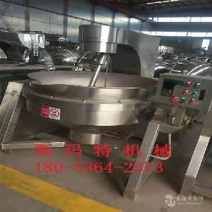 不锈钢液化气加热炒酱锅炒料锅专业生产厂家