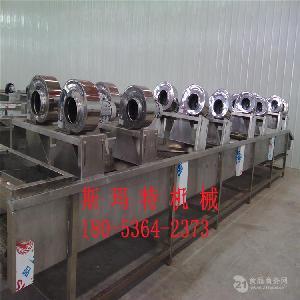 蔬菜毛豆清洗风干全套设备厂家直销 不锈钢材质