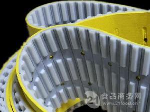 厂家热销开槽特殊同步带 开槽聚氨酯同步带订制